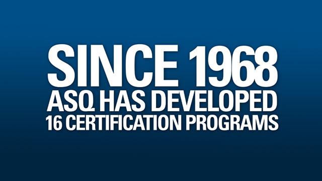 Fun Fact About ASQ Certifications - ASQTV