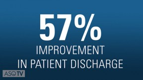 What's Working: Improving Patient Discharge Time